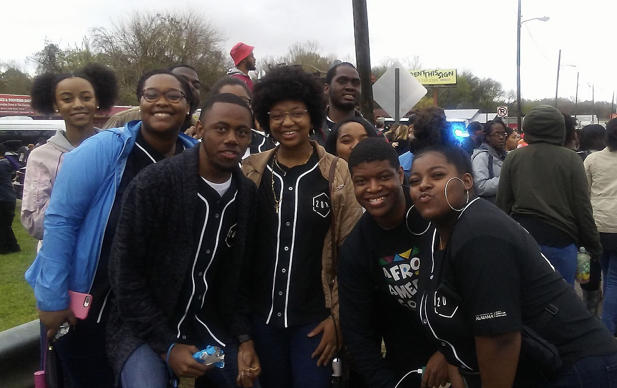 UA students participating in 54th annual Bloody Sunday March