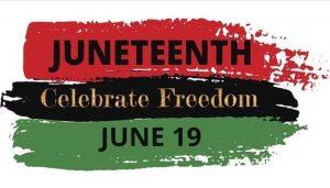 Juneteenth Celebrate Freedom June 19