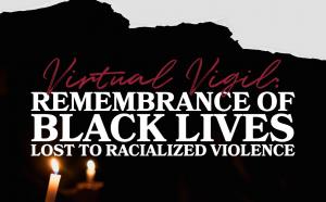 flyer for virtual vigil