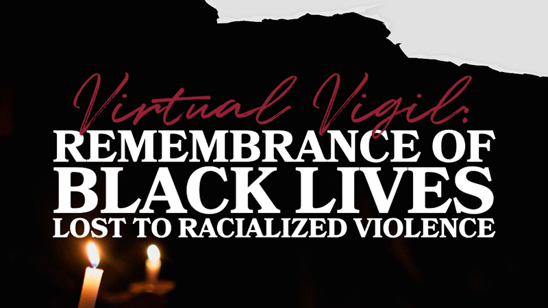 DEI Virtual Vigil Graphic