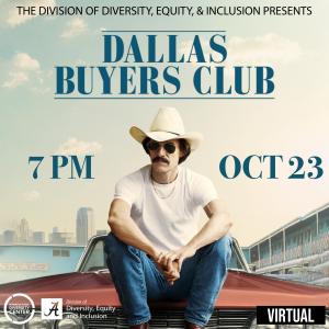 movie flyer for Dallas Buyers Club