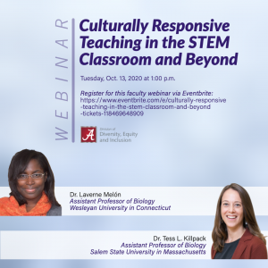 flyer for culturally responsive teaching
