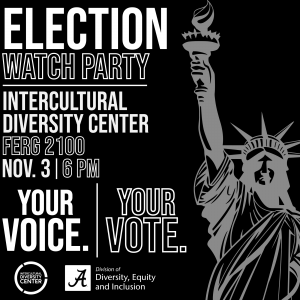 Election Day Watch Party Nov. 3 at 6 p.m. at the IDC