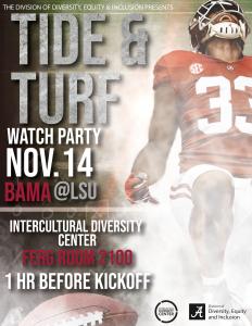 Football Watch Party Nov. 14