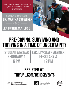 Pre-Coping: Surviving and Thriving in a Time of Uncertainty poster
