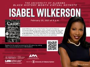 Isabel Wilkerson event information