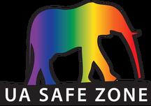 Elephant image walking on UA Safe Zone