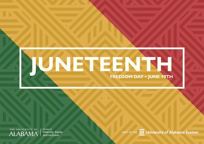 Juneteenth Freedom Day June 19th