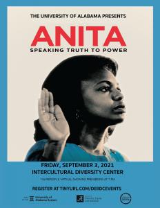 Anita Hill movie flyer
