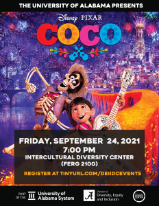 Coco movie flyer