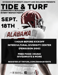 Tide and Turf flyer for Sept. 18