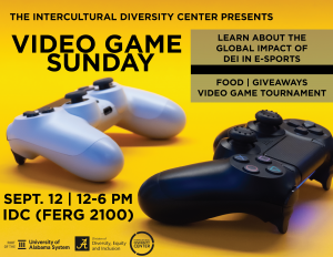 Video Game Sunday information